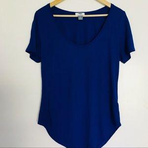 Old Navy royal blue shirt